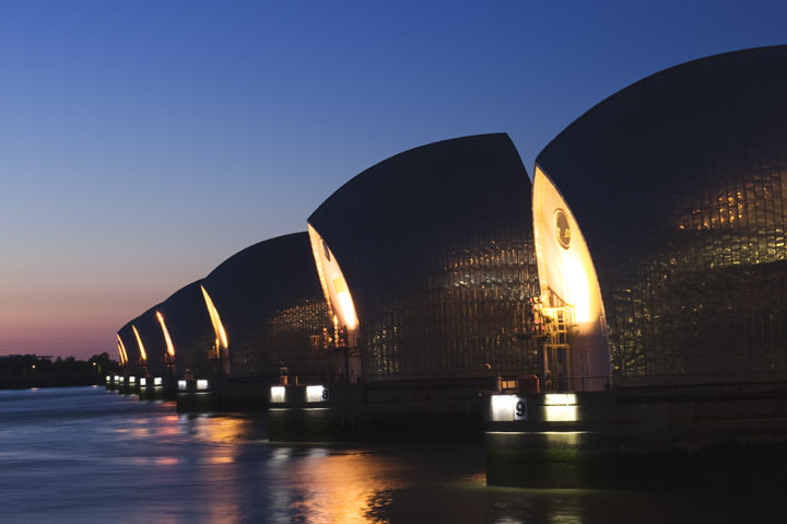 Photograph of Thames Barrier 6