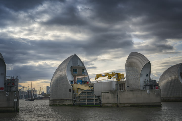 Photograph of Thames Barrier 9