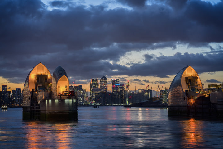 Photograph of Thames barrier 8
