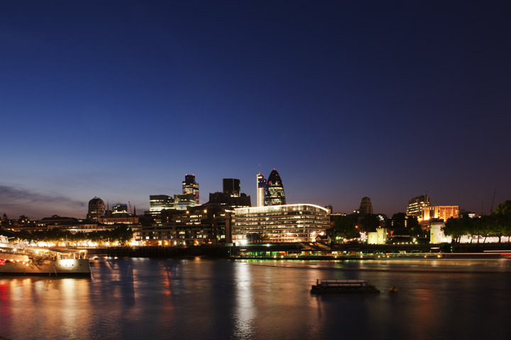 Photograph of The City of London