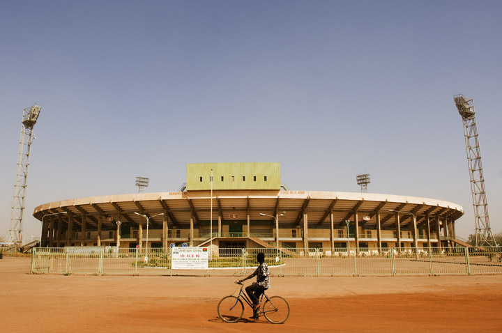The Football Stadium Ouagadougou - Burkina Faso