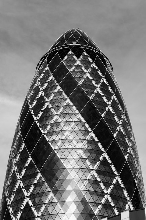 Photograph of The Gherkin 1