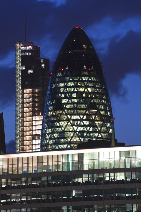 Photograph of The Gherkin 2