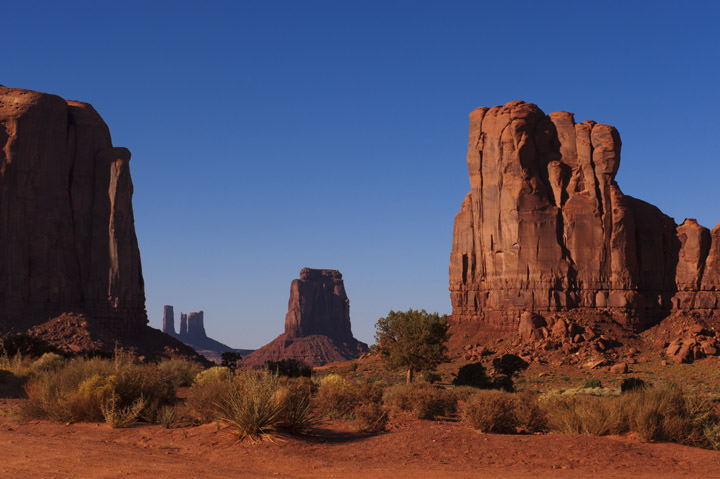 The Northern Window Monument Valley