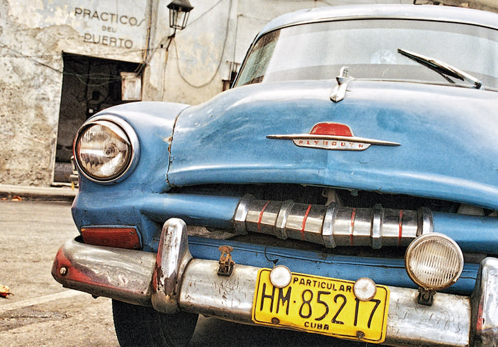 The Old Plymouth Havana - Cuba