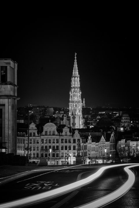 Photograph of The Streets of Brussels 1