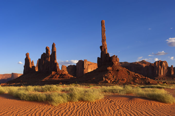 The Totem Pole Monument Valley