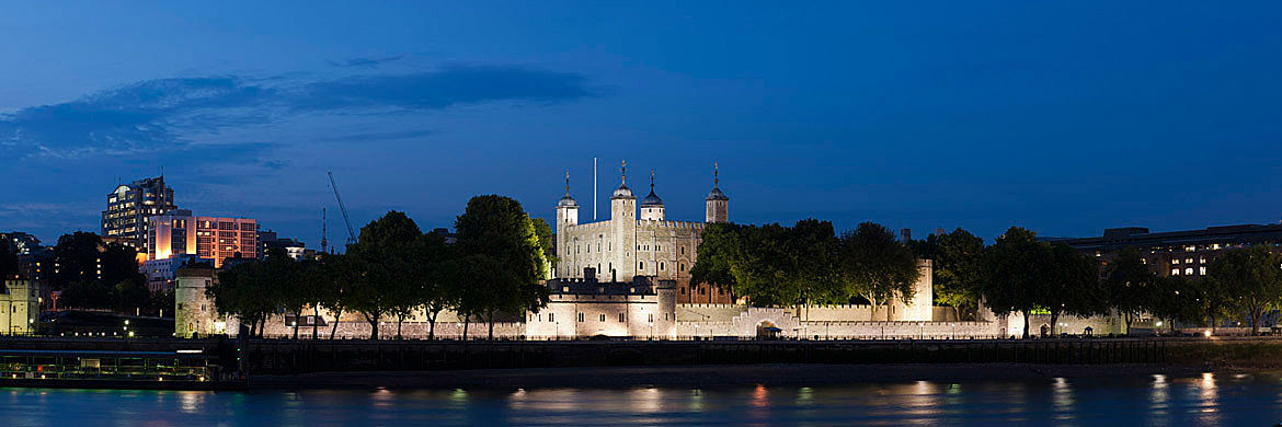 Photograph of The Tower of London Panorama 2