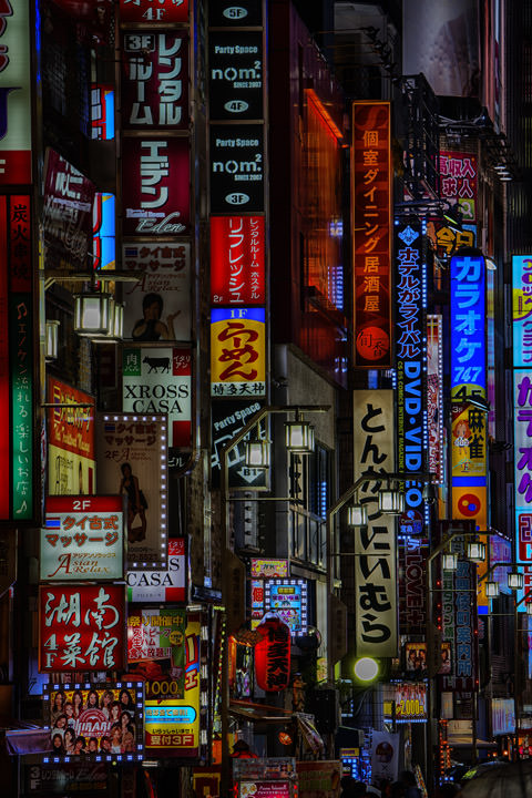 Photograph of Tokyo Signs 1