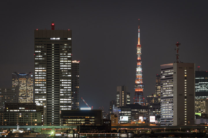 Photograph of Tokyo Tower Skyline 1