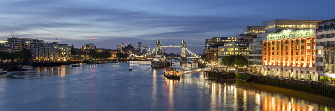 Photograph of Tower Bridge Panorama 1