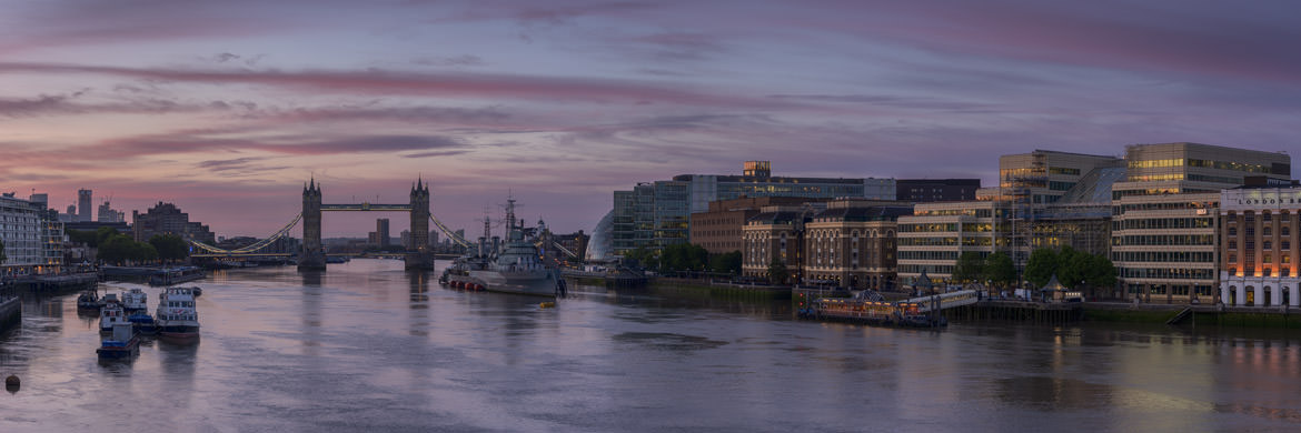 Photograph of Tower Bridge Panorama 3