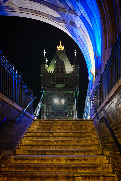 Photograph of Tower Bridge Steps 1