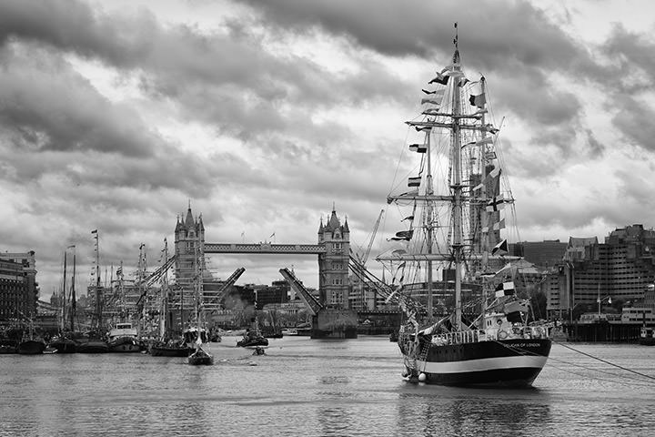 Photograph of Tower Bridge Tall Ships 1