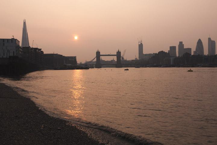 Photograph of Tower Bridge and City Skyline 10