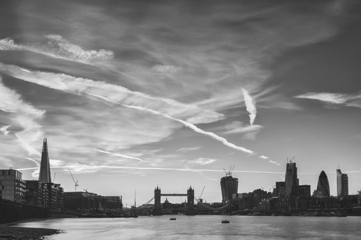 Photograph of Tower Bridge and City Skyline 14