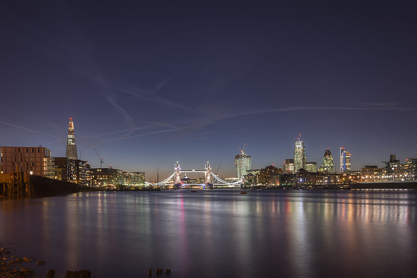Photograph of Tower Bridge and City Skyline 17