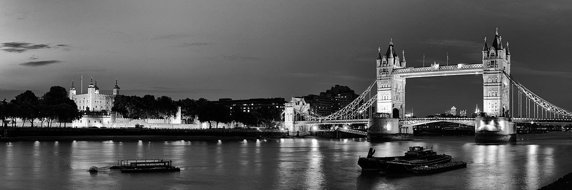 Photograph of Tower Bridge and the Tower of London