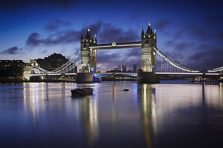 Photograph of Tower Bridge at Dawn 2