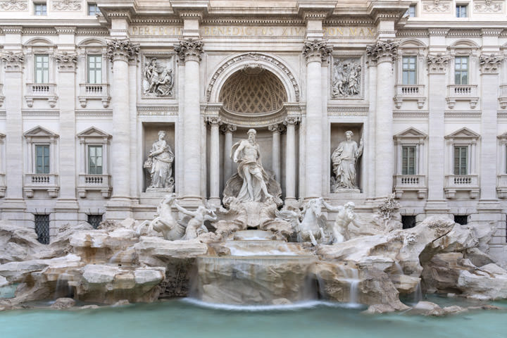 Photograph of Trevi Fountain 1