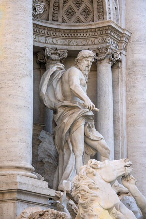 Trevi Fountain Statue 1