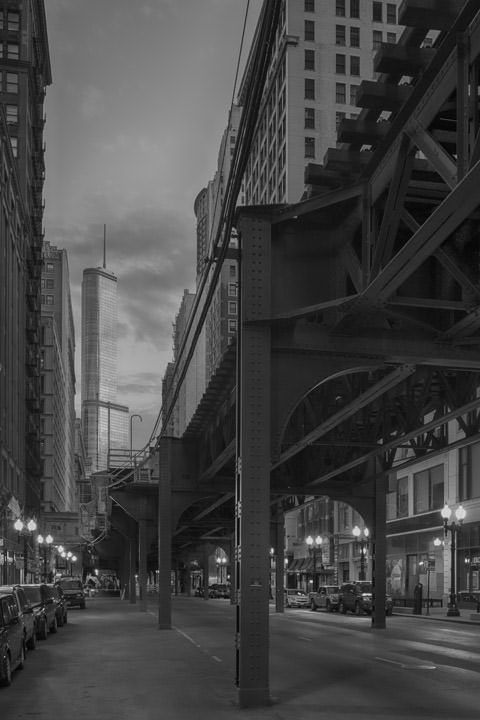 Photograph of Trump Tower and Loop