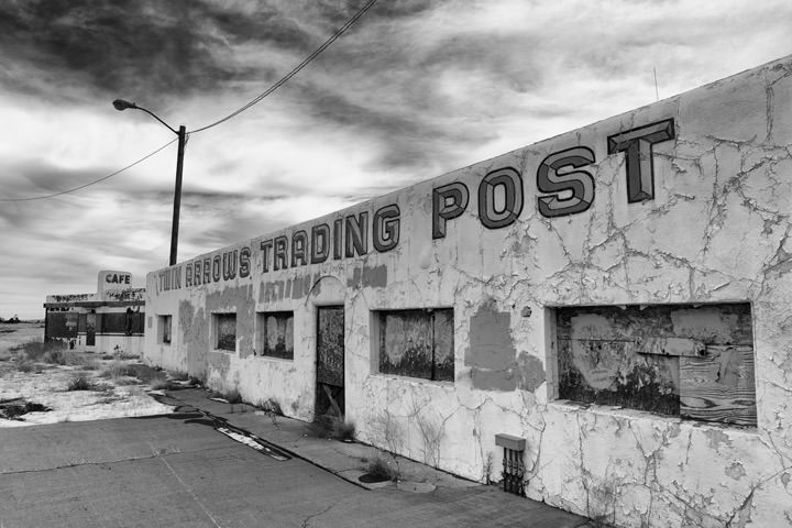 Photograph of Twin Arrows Trading Post