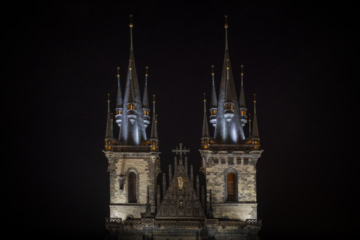 Photograph of Tyn Church Prague 1