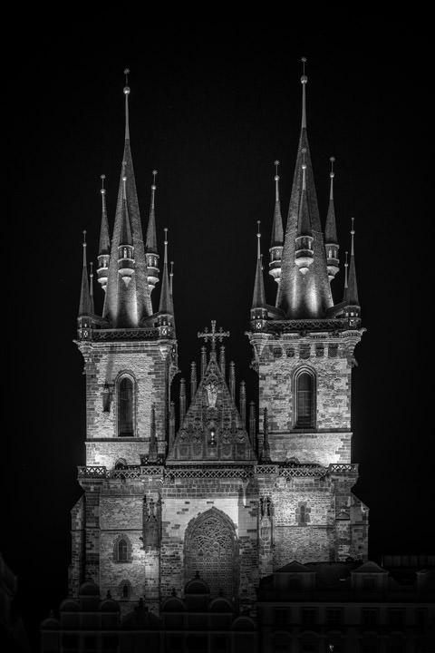 Photograph of Tyn Church Prague 2