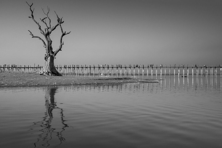 Photograph of U Bein Bridge 2