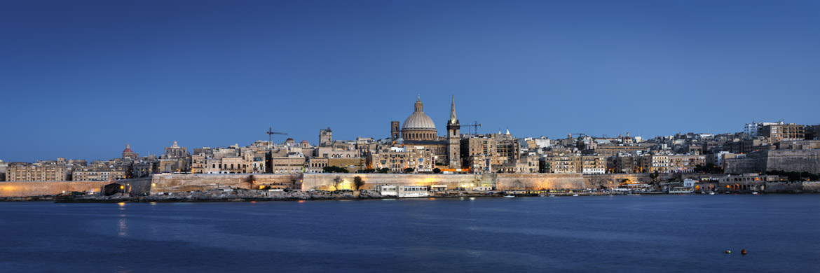Photograph of Valletta Panorama 1