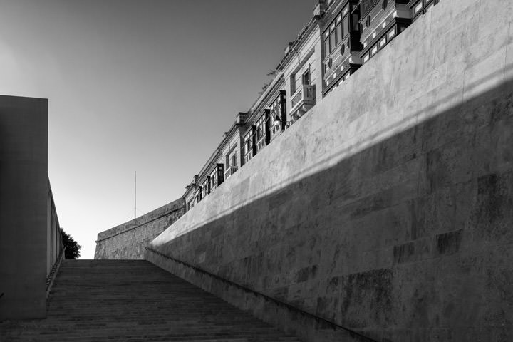Photograph of Valletta Steps