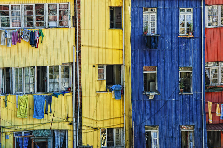 Photograph of Valparaiso Balconies 1