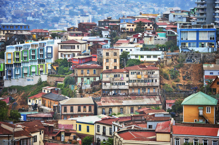Photograph of Valparaiso Rooftops 1