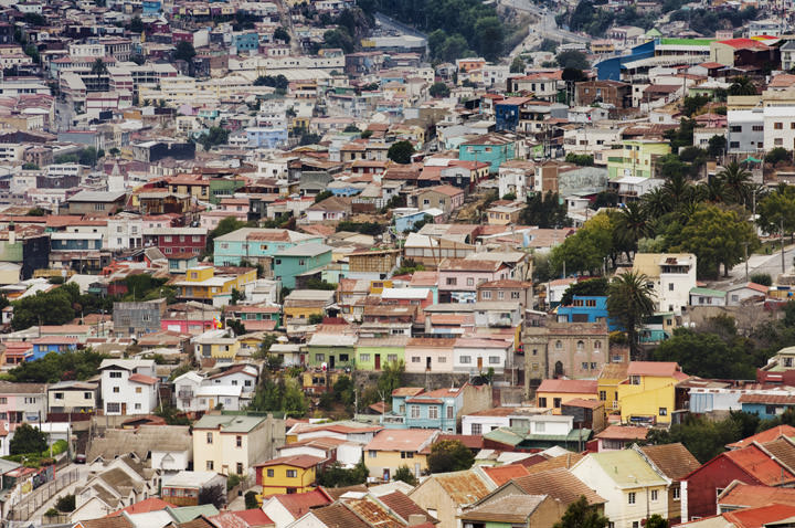 Photograph of Valparaiso Rooftops 2