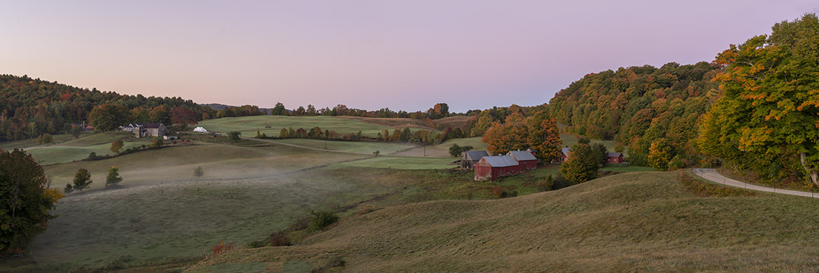 Photograph of Vermont panorama
