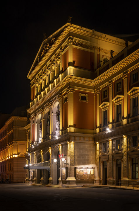 Photograph of Vienna Concert Hall 1