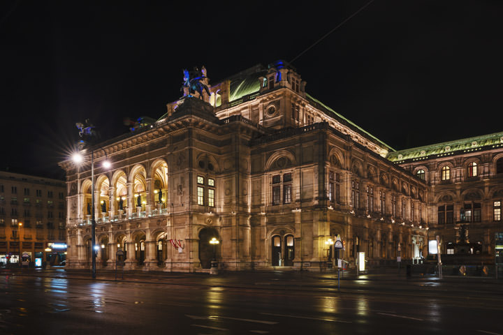 Photograph of Vienna Opera House 1
