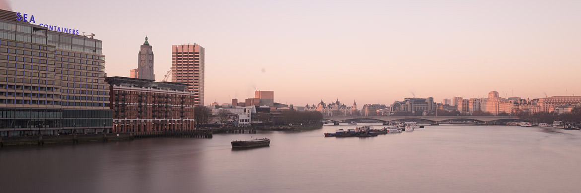 Photograph of View from Blackfriars Bridge 2