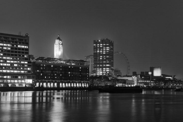 Photograph of View from Blackfriars Bridge