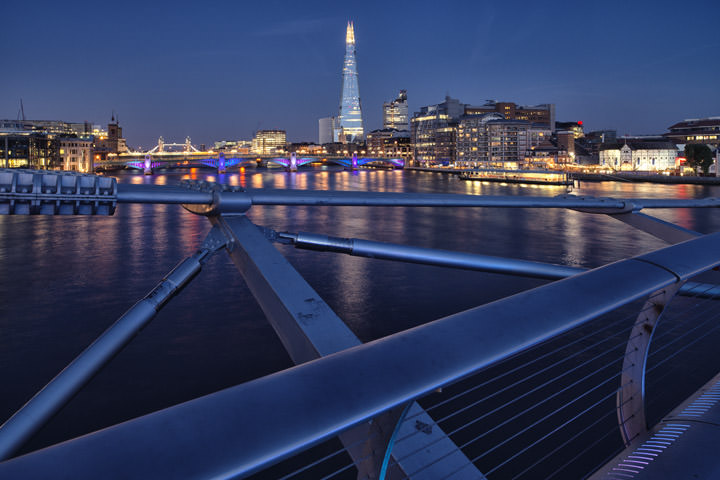 Photograph of View from Millennium Bridge