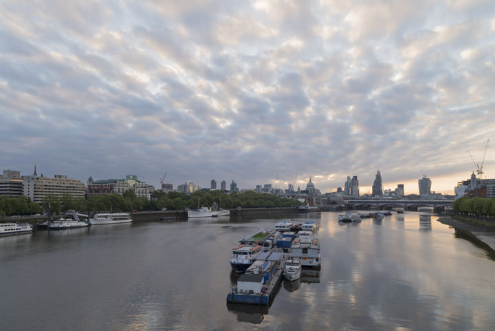 Photograph of View from Waterloo Bridge 2