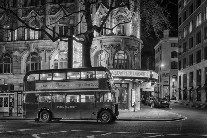 Photograph of Vintage Bus Theatreland