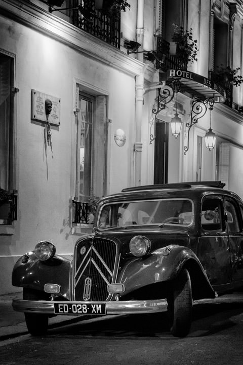 Photograph of Vintage Citroen Paris
