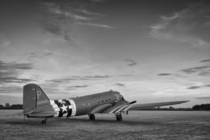 Photograph of Vintage Dakota DC3