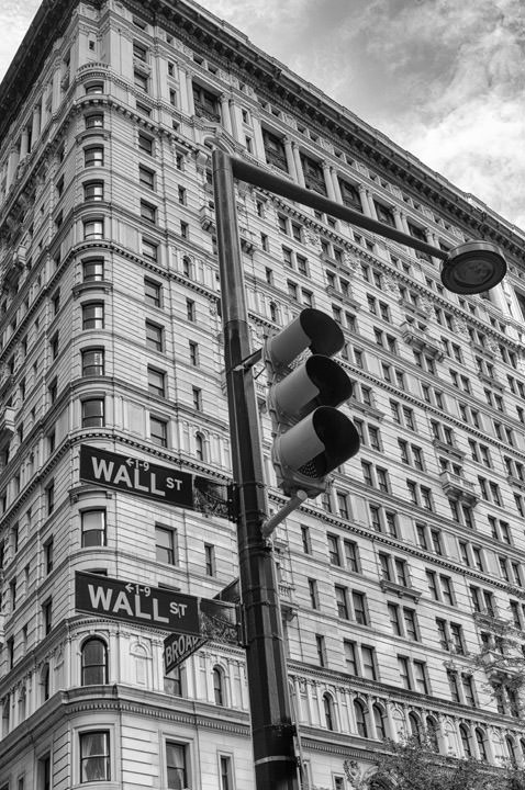 Photograph of Wall Street 1