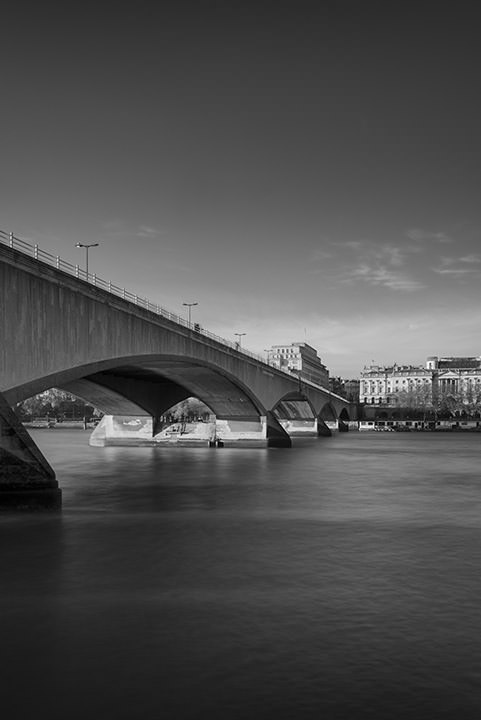 Black and white photograph of Waterloo Bridge