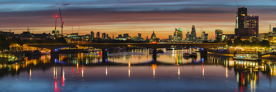 Waterloo Bridge Cityscape 1
