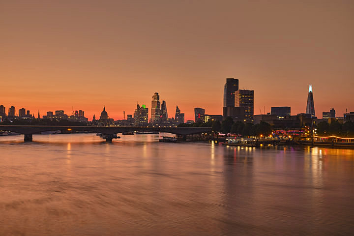 Waterloo Bridge at Dawn 2