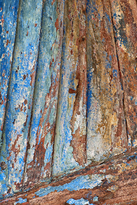 Weathered Boat Southwold - England